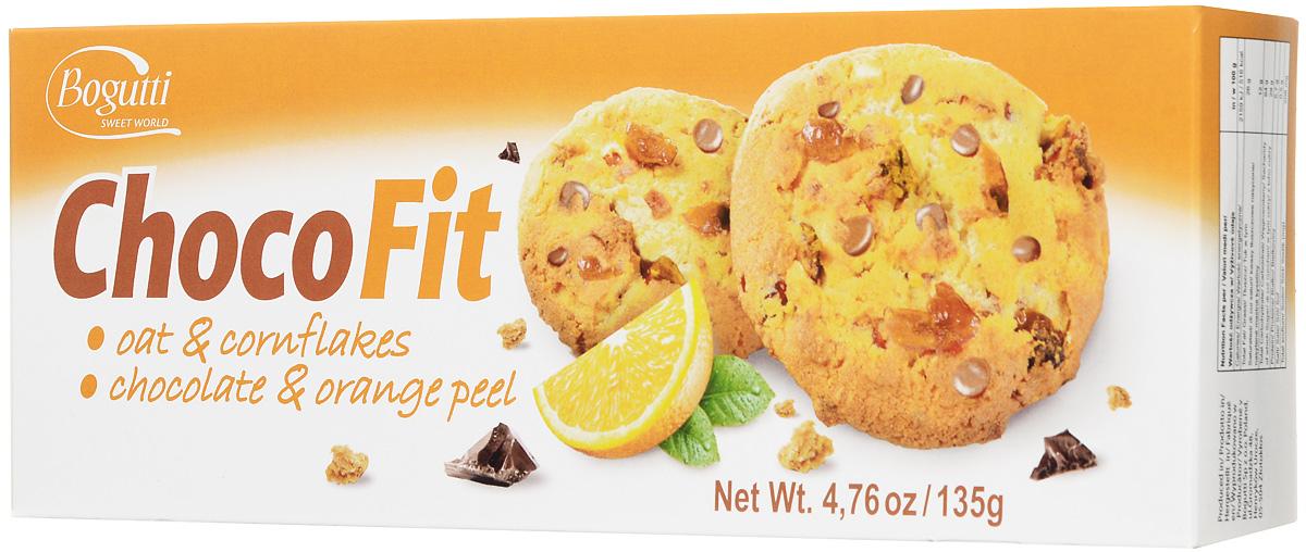 Bogutti Choco Fit печенье с шоколадной крошкой и цедрой апельсина, 135 г527Bogutti Choco Fit - высококачественное сдобное печенье с шоколадной крошкой и цедрой апельсина, приготовленное по лучшим итальянским технологиям, из тщательно отобранного сырья. Качество всех изделий отвечает высоким международным требованиям BRC, IFS, а выпечка выглядит аппетитно и привлекательно. Идеально для людей ведущих активный образ жизни и занимающихся фитнесом.