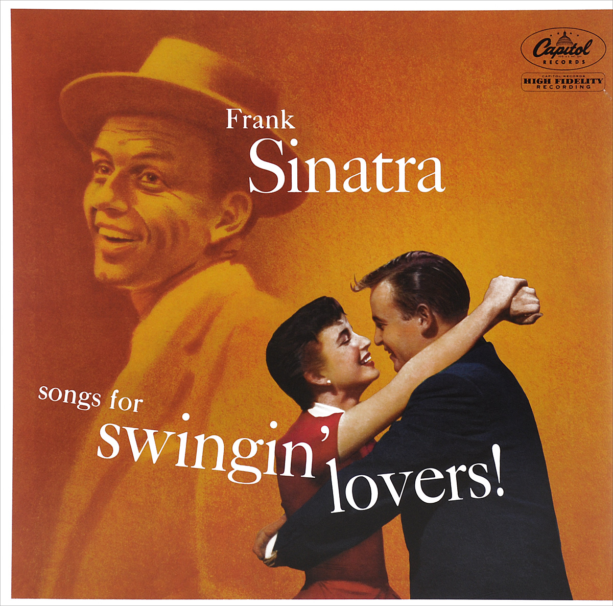 Фрэнк Синатра Frank Sinatra. Songs For Swingin' Lovers (LP)