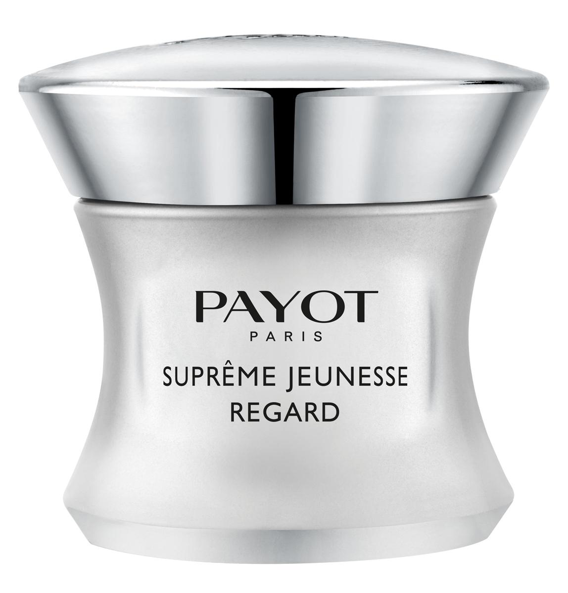 Payot Supreme Jeunesse Крем для глаз с непревзойденным омолаживающим эффектом,, 15 мл65100706Крем для глаз с непревзойденным омолаживающим эффектом обеспечивает исчерпывающий уход за областью глаз. Утром разглаживает кожу и придает сияние взгляду. Ночью активно восстанавливает.Возраст: рекомендовано для 50+, в отдельных случаях 30+.