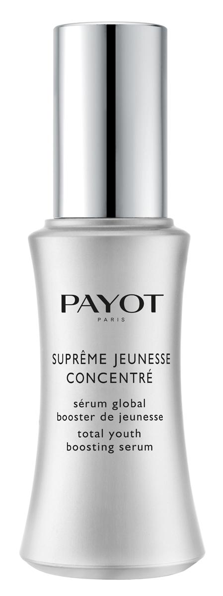 Payot Supreme Jeunesse Сыворотка с непревзойденным омолаживающим эффектом, 30 млAC-2233_серыйСыворотка направленно действует на все признаки старения, оказывает глобальное восстанавливающее действие. Борется с видимыми эффектами возрастных изменений кожи: морщинами, потерей упругости, пигментными пятнами, потерей сияния и обезвоженностью.Возраст: рекомендовано для 50+, в отдельных случаях 30+.