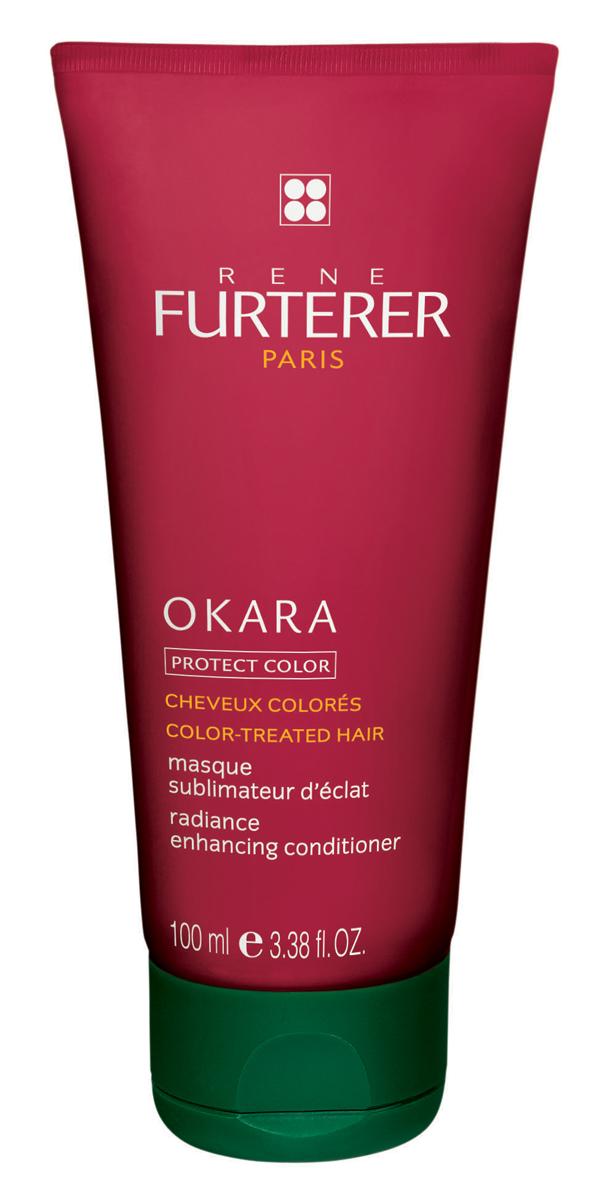 Rene Furterer Okara Маска восстанавливающая защитная для окрашенных волос, 100 мл3282779285537Маска с легкой кремовой текстурой рекомендуется для всех типов волос. Благодаря комплексу растительных компонентов и Витамину В5 глубоко восстанавливает волосы, проникает в кутикулу волоса и восстанавливает его изнутри. Волосам возвращается мягкость и эластичность. Маска усиливает насыщенность цвета. Придает окрашенным волосам ослепительный блеск. В результате применения маски волосы становятся шелковистыми, блестящими и послушными, легко расчесываются. Маска защищает волосы от ультрафиолета.Небольшое количество маски нанести на чистые, влажные волосы и равномерно распределить по длине волос. Оставить на 5-10 мин, затем тщательно смыть водой. Подходит для частого использования.