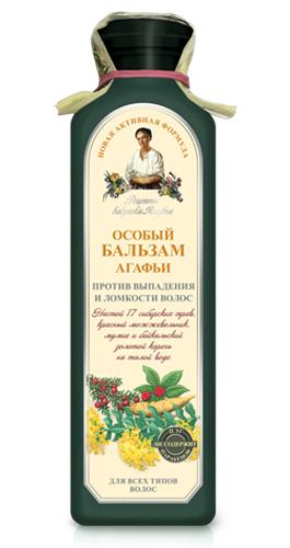 Рецепты бабушки Агафьи бальзам Особый Агафьи против выпадения и ломкости волос 350 мл