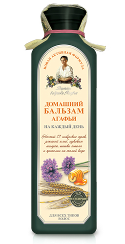 Рецепты бабушки Агафьи бальзам Домашний Агафьи на каждый день 350 мл