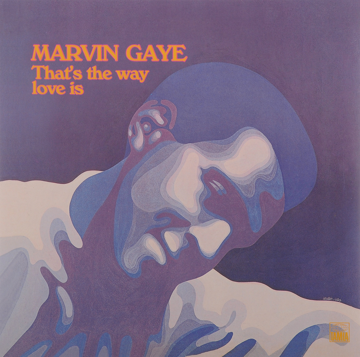 Марвин Гэй Marvin Gaye. That's The Way Love Is (LP) marvin gaye marvin gaye a tribute to the great nat king cole