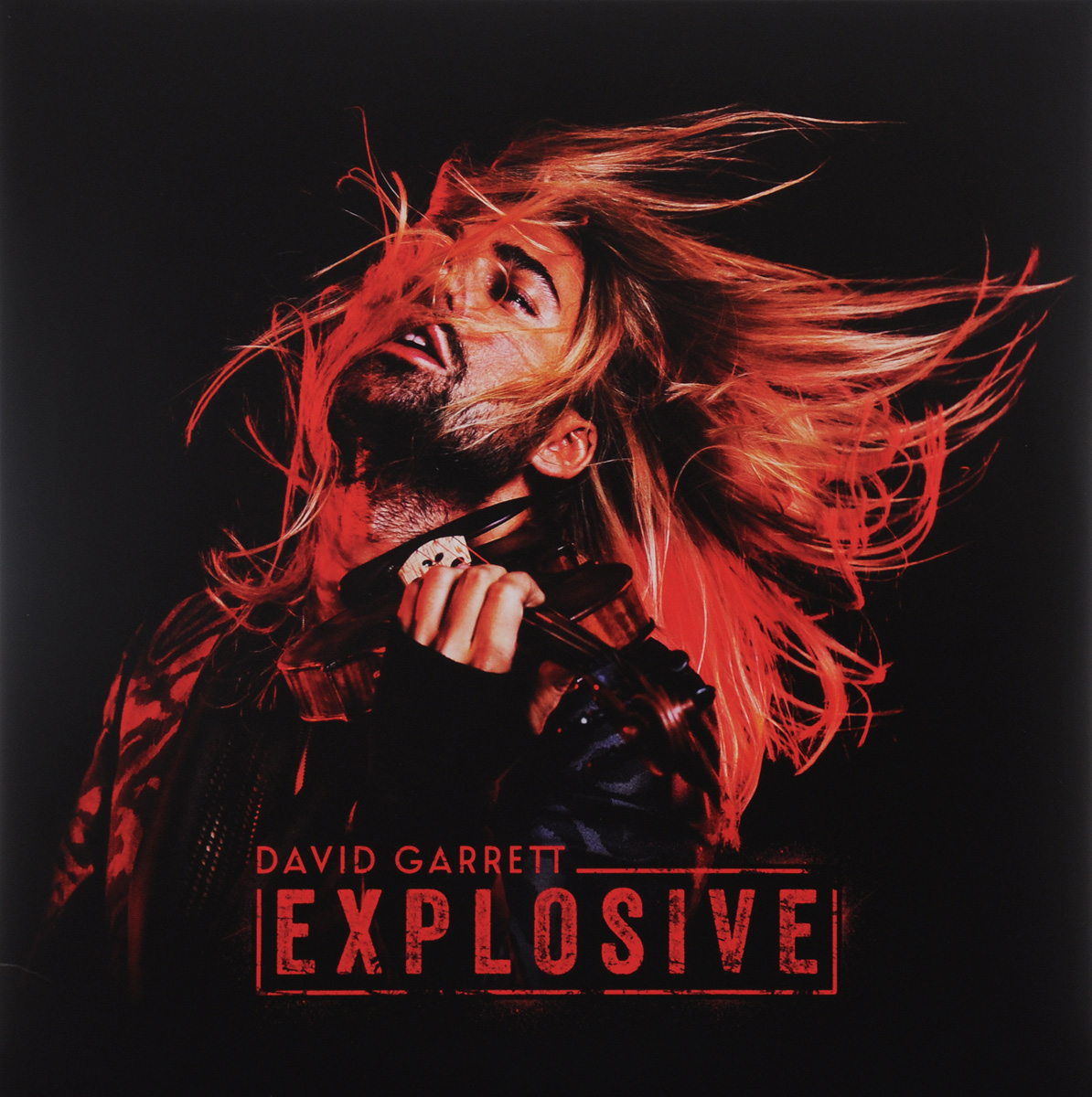 Дэвид Гарретт David Garrett. Explosive (2 LP)
