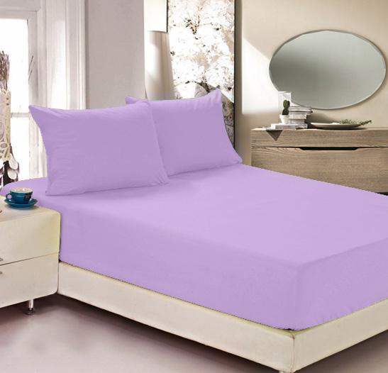 Простыня на резинке Легкие сны Color Way, трикотаж, цвет: сиреневый, 200 x 200 смCLP446Простыня Легкие сны Color Way выполнена из трикотажа. Высочайшее качество материала гарантирует безопасность не только взрослых, но и самых маленьких членов семьи. Изделие прошито резинкой по всему периметру, что обеспечивает более комфортный отдых, так как оно прочно удерживается на матрасе и избавляет от необходимости часто поправлять простыню. Простыня гармонично впишется в интерьер вашей спальни и создаст атмосферу уюта и комфорта.Рекомендации по уходу:Деликатная стирка при температуре воды до 30°С.Отбеливание, химчистка запрещены.Рекомендуется глажка при температуре подошвы утюга до 150°С.Разрешена барабанная сушка.
