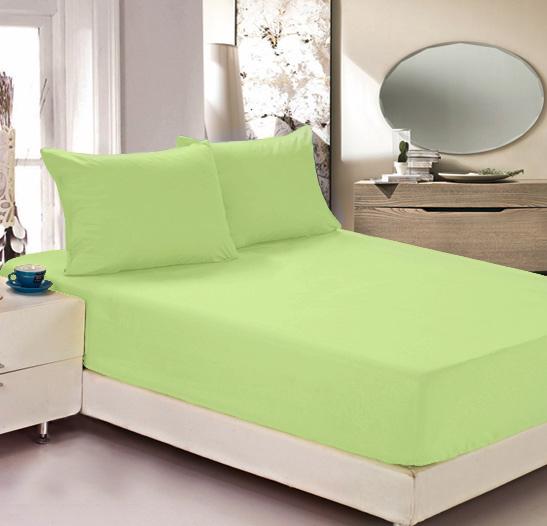 Простыня на резинке Легкие сны Color Way, трикотаж, цвет: салатовый, 90 x 200 смЛСПР - 90/5Простыня Легкие сны Color Way выполнена из трикотажа. Высочайшее качество материала гарантирует безопасность не только взрослых, но и самых маленьких членов семьи. Изделие прошито резинкой по всему периметру, что обеспечивает более комфортный отдых, так как оно прочно удерживается на матрасе и избавляет от необходимости часто поправлять простыню. Простыня гармонично впишется в интерьер вашей спальни и создаст атмосферу уюта и комфорта.Рекомендации по уходу:Деликатная стирка при температуре воды до 30°С.Отбеливание, химчистка запрещены.Рекомендуется глажка при температуре подошвы утюга до 150°С.Разрешена барабанная сушка.