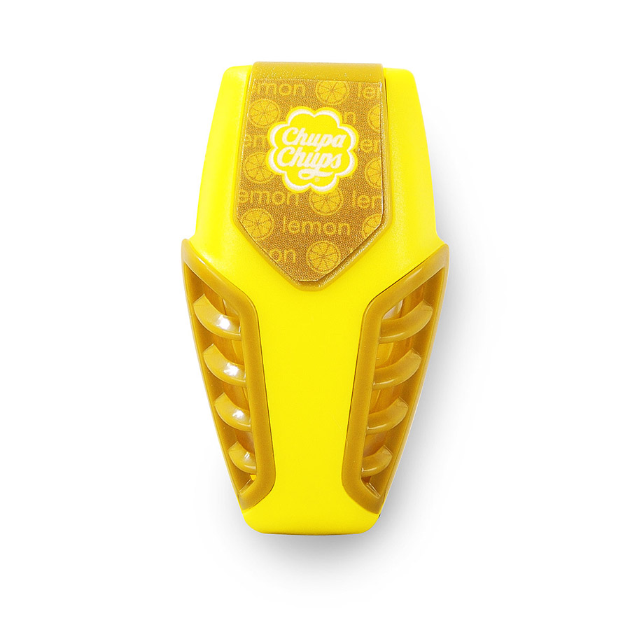 Ароматизатор воздуха Chupa Chups Лайм-лимон, на дефлектор, мембранный, гелевый, 3 млSVC-300Гелевый мембранный ароматизатор Chupa Chups на дефлектор автомобиля с ароматом лимона и лайма. Это одно из самых удобных мест расположения автоароматизаторов. Легко размещается в салоне автомобиля, а оригинальный необычный дизайн ароматизатора еще и украшает салон. Срок службы 45 дней.