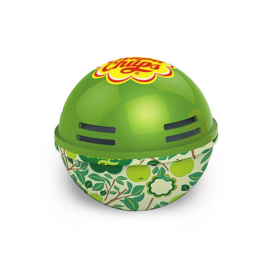 Ароматизатор воздуха Chupa Chups Яблоко, на панель приборов, гелевый, 100 млCA-3505Круглый гелевый ароматизатор на панель приборов в виде огромного леденца Chupa Chups с ароматом яблока. Обеспечивает приятный запах до 45 дней. Легко размещается в салоне автомобиля, а оригинальный необычный дизайн ароматизатора еще и украшает салон.
