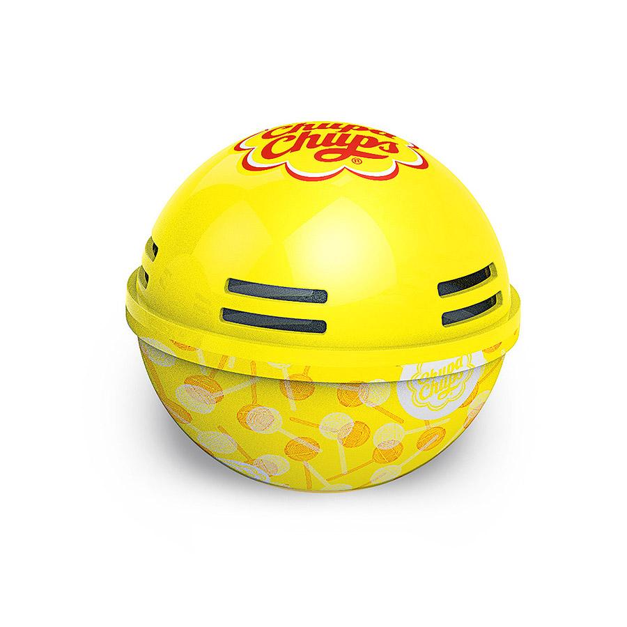 Ароматизатор воздуха Chupa Chups Лимон, на панель приборов, гелевый, 100 млДА-18/2+Н550Круглые гелевые ароматизаторы на панель приборов в виде огромных леденцов Chupa Chups. Аромат лимона. Срок службы 45 дней, 100мл.