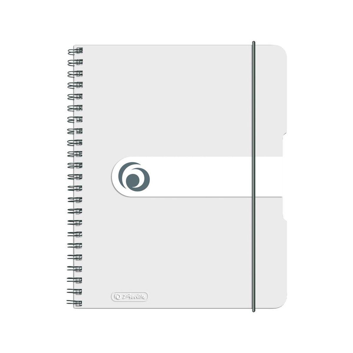 Herlitz Блокнот Easy Orga To Go 80 листов в клетку формат А5 цвет прозрачный72523WDУдобный блокнот от Herlitz Easy Orga To Go - незаменимый атрибут современного человека, необходимый для рабочих или школьных записей.Блокнот содержит 80 листов формата А5 в клетку без полей. Обложка выполнена из качественного полипропилена. Внутренний спиральный блок изготовлен из металла и гарантирует надежное крепление листов. Блокнот имеет закругленные углы и нежный дизайн бордового цвета.Блокнот для записей от Herlitz Easy Orga To Go станет достойным аксессуаром среди ваших канцелярских принадлежностей. Это отличный подарок как коллеге или деловому партнеру, так и близким людям.