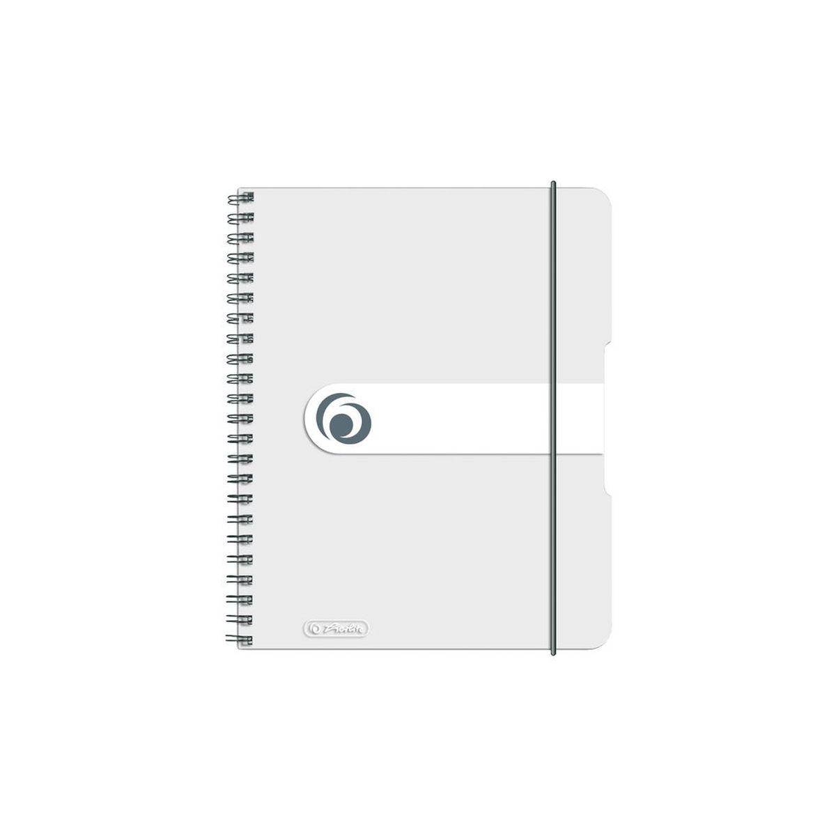 Herlitz Блокнот Easy Orga To Go 100 листов в клетку формат А6 цвет прозрачный72523WDУдобный блокнот Herlitz Easy Orga To Go - незаменимый атрибут современного человека, предназначенный для важных записей.Блокнот содержит 100 листов формата А6 в клетку без полей. Обложка выполнена из качественного полипропилена. Спираль изготовлена из металла, что гарантирует полное отсутствие потери листов. Блокнот имеет закругленные углы.Блокнот для записей Herlitz Easy Orga To Go станет достойным аксессуаром среди ваших канцелярских принадлежностей. Это отличный подарок как коллеге или деловому партнеру, так и близким людям.