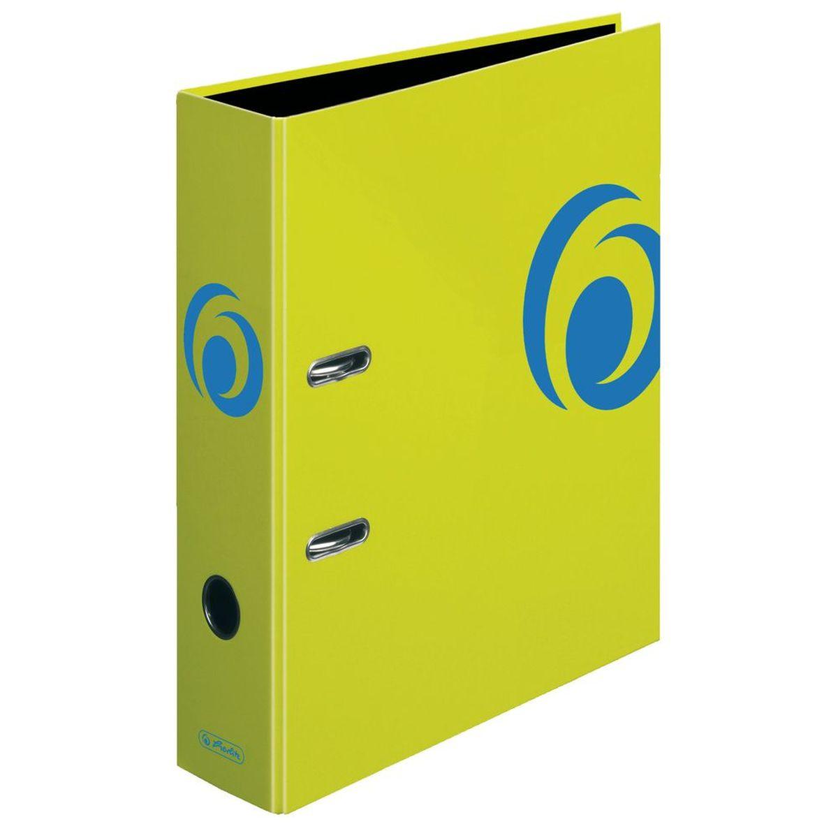 Herlitz Папка-регистратор MaX.file цвет лимонный