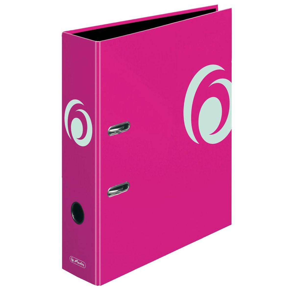 Herlitz Папка-регистратор MaX.file цвет розовый11364320Практичная папка-регистратор Herlitz maX.file предназначена для хранения больших объемов документов. Ее обложка выполнена из ламинированного картона, с отделкой выборочным лаком. Папка оснащена прочным арочным механизмом улучшенного высокого качества с увеличенной прижимной силой. Основа папки изготовлена из прочного FSC-сертифицированного картона.Папка-регистратор значительно облегчает делопроизводство. Яркий розовый дизайн позволит ей стать достойным аксессуаром среди ваших канцелярских принадлежностей.