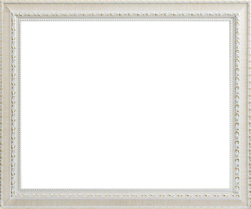 Рама багетная Белоснежка Donna, цвет: белый, золотой, 40 х 50 смHJ 4015 ДекорБагетная рама Белоснежка Donna изготовлена из пластика, окрашенного в белый цвет. Багетные рамы предназначены для оформления картин, вышивок и фотографий.Если вы используете раму для оформления живописи на холсте, следует учесть, что толщина подрамника больше толщины рамы и сзади будет выступать, рекомендуется дополнительно зафиксировать картину клеем, лист-заглушку в этом случае не вставляют. В комплект входят рама, два крепления на раму, дополнительный держатель для холста, подложка из оргалита, инструкция по использованию.