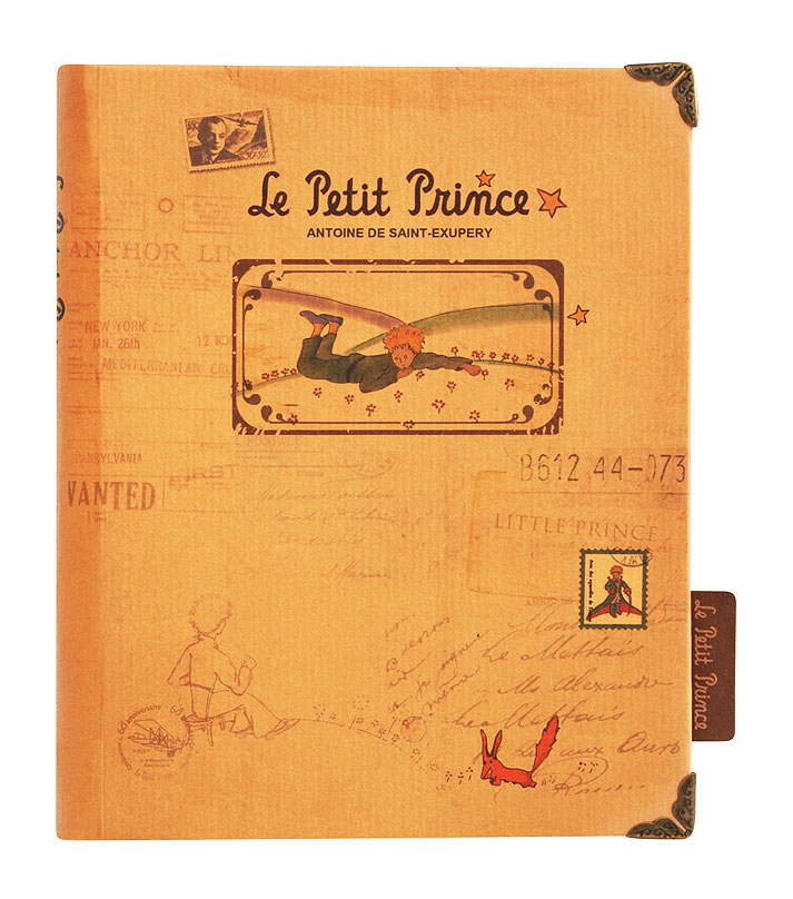 Ежедневник Белоснежка Принц на траве72523WDЕжедневник Принц на траве по мотивам произведения Антуана де Сент-Экзюпери. Размер: 12,5 х 16,2 х 2 см. Количество листов: 96.