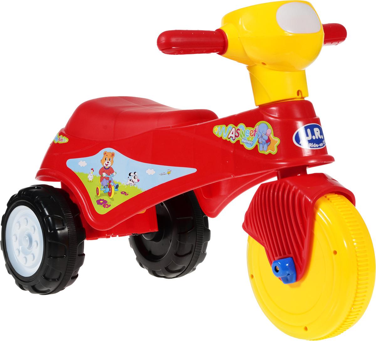 J.R. TOYS Каталка детская Трицикл цвет красный