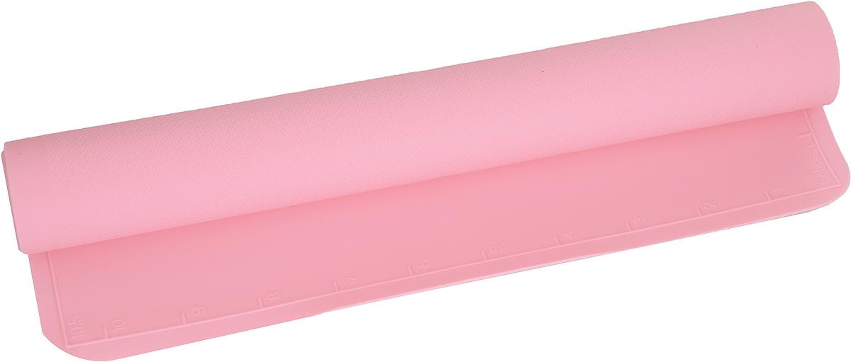 Коврик силиконовый Mayer & Boch, цвет: розовый, 42 х 28 см21993_розовыйСиликоновый коврик Mayer & Boch предназначен для приготовления выпечки. Онбыстро нагревается, равномерно пропекает, не допускает подгорания выпечки скраев или снизу. Нет необходимости смазывать коврик маслом. Выниматьпродукты из изделия очень легко. Коврик не ржавеет и на нем не образуютсяпятна. Нет необходимости изменять температуру приготовления.Можно использовать в микроволновой печи, духовом шкафу, морозильной камереи в холодильнике. Можно мыть в посудомоечной машине.