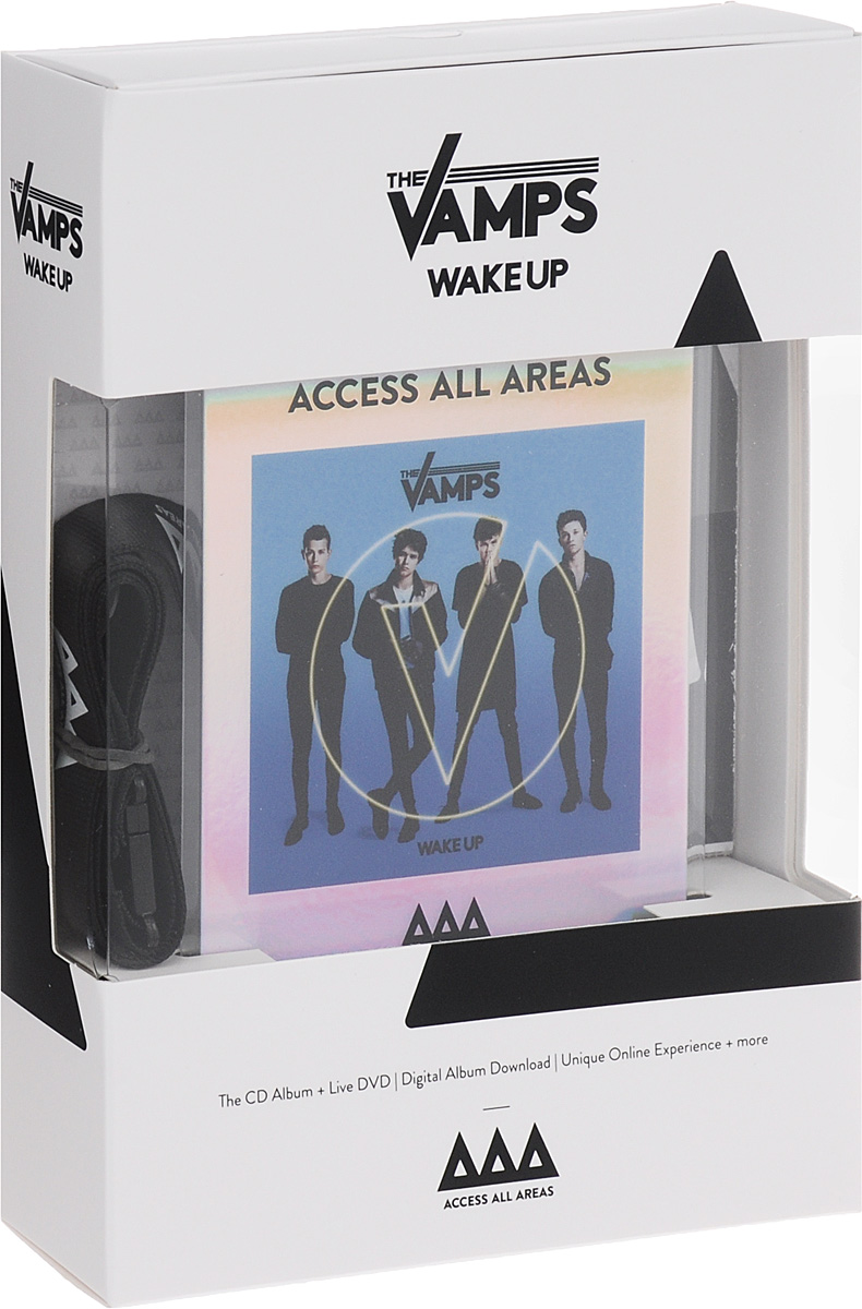 The Vamps The Vamps. Wake Up (CD + DVD) cd stevie nicks the wild heart