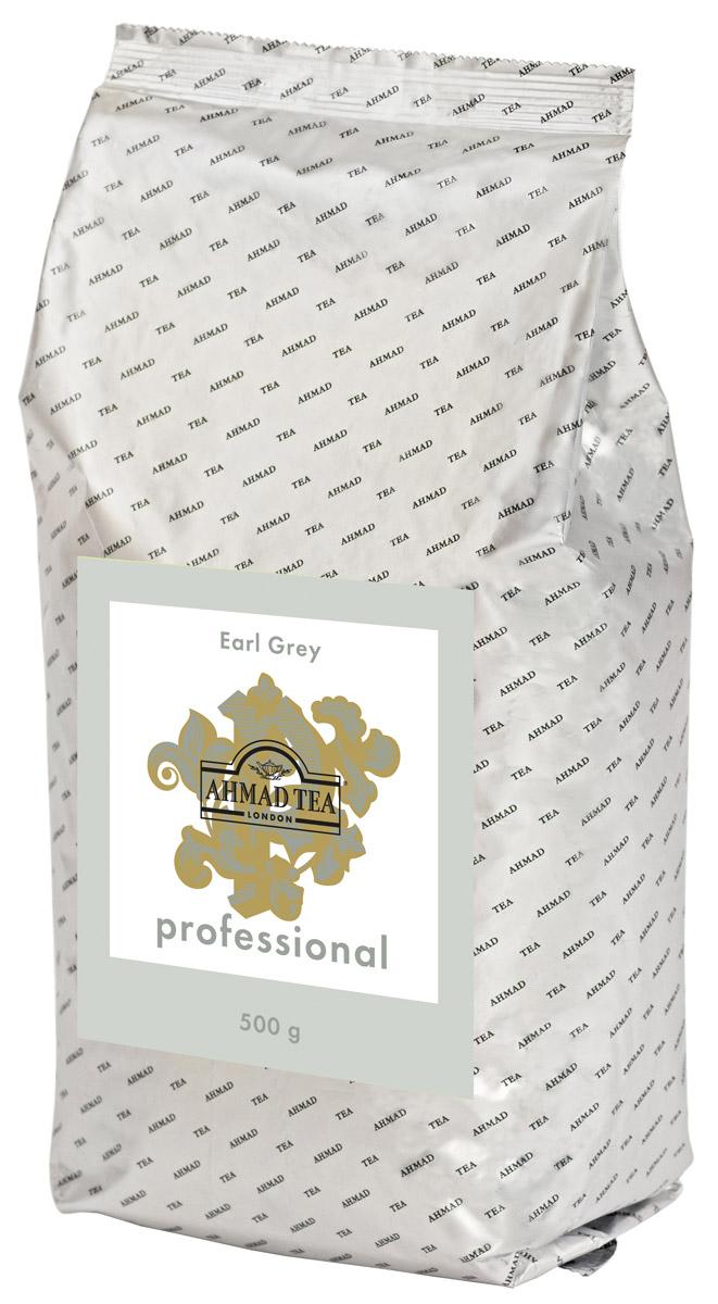 Ahmad Tea Professional Эрл Грей черный листовой чай, 500 г101246Ahmad Tea Professional Эрл Грей – это тот случай, когда за кажущейся простотой скрывается сложная рецептура купажирования: 9 сортов чая и пара капель бергамотового масла создают магию момента вопреки рутине повседневности. Чтобы чай раскрылся во вкусе – заваривать 4-5 минут при температуре 100°С. Цвет настоя насыщенный, темно-коричневый, с красноватым отблеском. Вкус этого напитка крепкий, пикантный, с бергамотом.