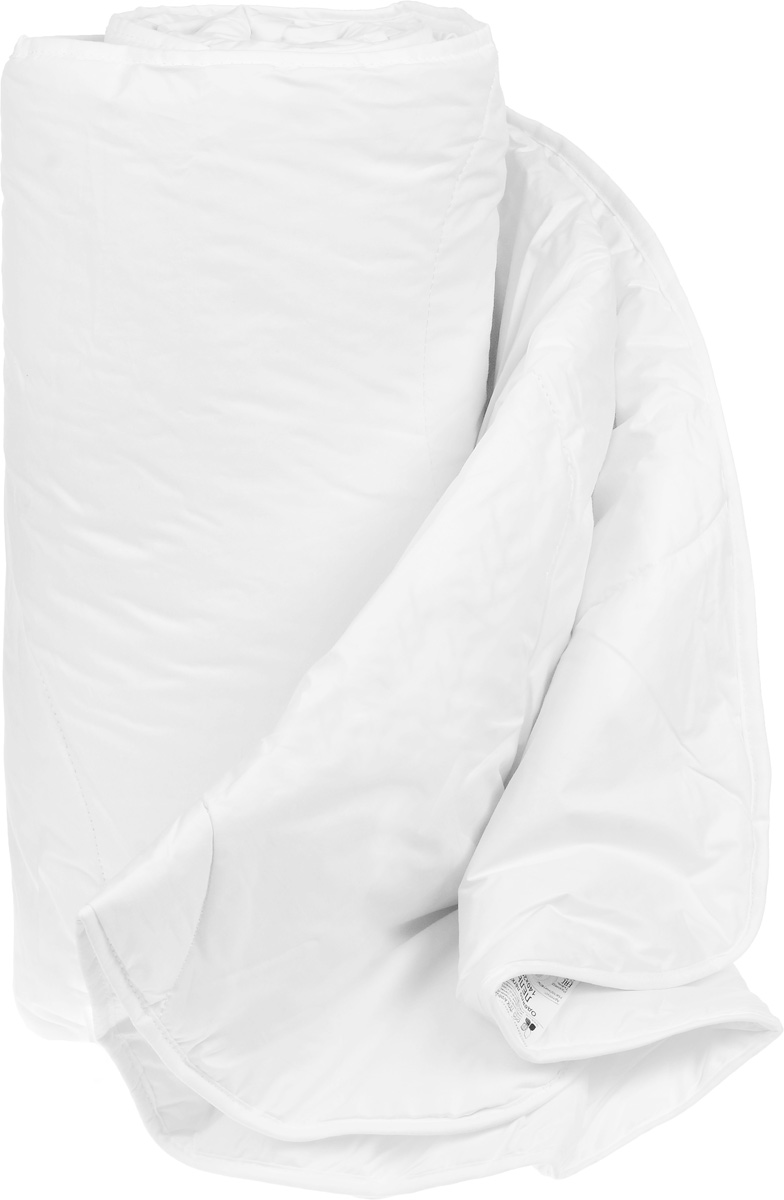 Одеяло теплое Легкие сны Лель, наполнитель: лебяжий пух, 200 x 220 см531-105Теплое одеяло Легкие сны Лель поможет расслабиться, снимет усталость и подарит вам спокойный и здоровый сон. Полиэфирное высокосиликонизированное микроволокно лебяжий пух - это искусственный аналог натурального лебяжьего пуха. По потребительским свойствам он не отличается от своего натурального аналога, он такой же легкий, пышный и теплый. Простота в уходе тоже имеет немаловажное значение, такое изделие предназначено для машинной стирки. Чехол одеяла выполнен из пуходержащего хлопкового тика белого цвета. Это натуральная хлопчатобумажная ткань, отличающаяся высокой плотностью, идеально подходит для пухо-перовых изделий, так как устойчива к проколам и разрывам, а также отличается долговечностью в использовании. Одеяло простегано и окантовано. Стежка надежно удерживает наполнитель внутри и не позволяет ему скатываться.Теплое одеяло Легкие сны Лель - идеальный выбор для спальни в светлых тонах. Можно стирать в стиральной машине.