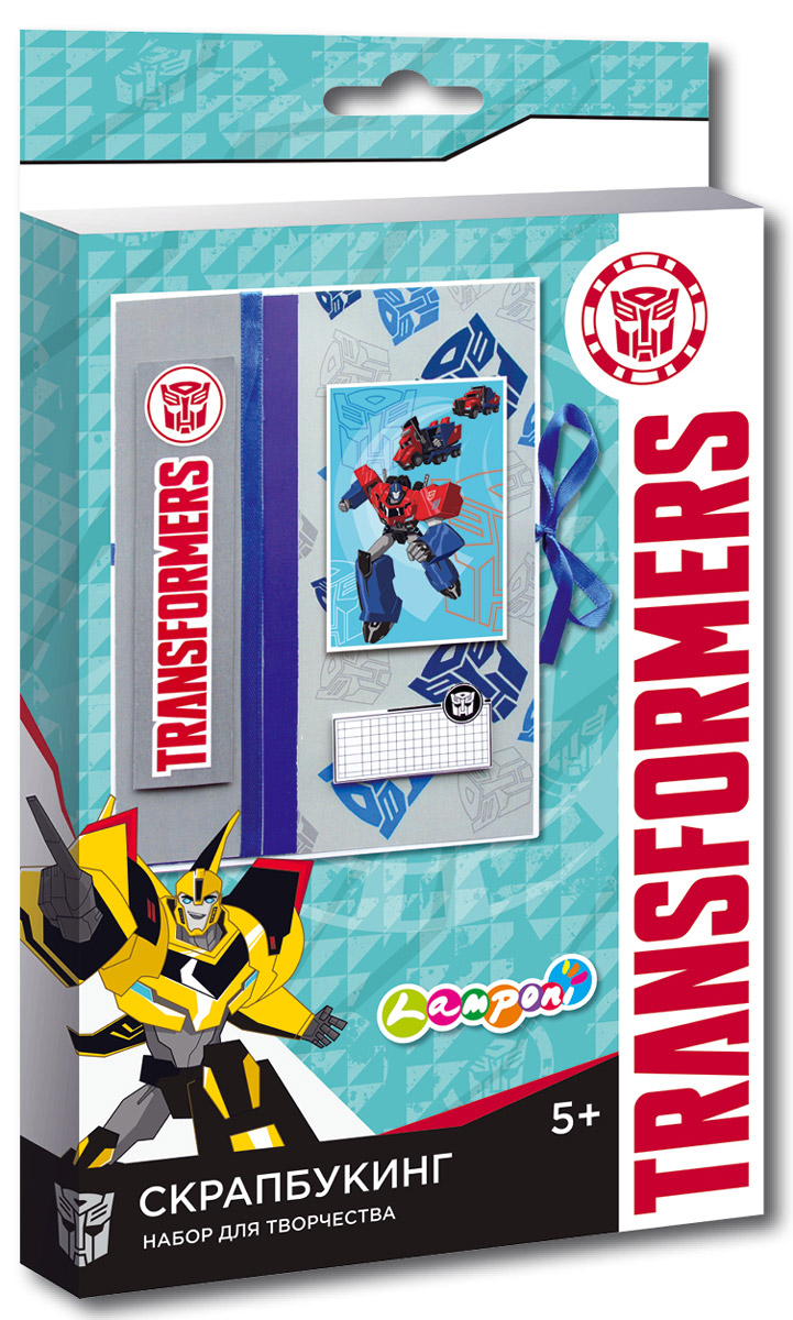 Transformers Моделирование из бумаги Скрапбукинг