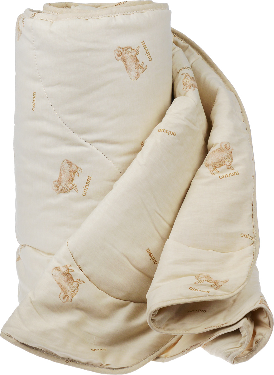 Одеяло легкое Легкие сны Полли, наполнитель: овечья шерсть, 172 x 205 см10503Легкое стеганое одеяло Легкие сны Полли с наполнителем из овечьей шерсти расслабит, снимет усталость и подарит вам спокойный и здоровый сон.Шерстяные волокна, получаемые из овечьей шерсти, имеют полую структуру, придающую изделиям высокую износоустойчивость. Чехол одеяла, выполненный из 100% хлопка. Одеяло простегано. Стежка надежно удерживает наполнитель внутри и не позволяет ему скатываться.Рекомендации по уходу:Отбеливание, стирка, барабанная сушка и глажка запрещены. Разрешается химчистка.
