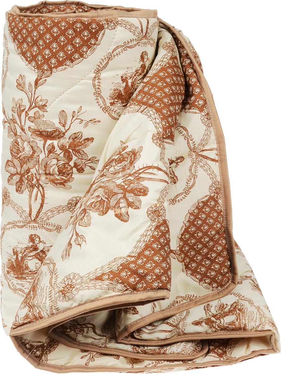 Одеяло легкое Легкие сны Золотое руно,наполнитель: овечья шерсть, 172 x 205 см531-105Легкое стеганое одеяло Легкие сны Золотое руно с наполнителем из овечьей шерсти расслабит, снимет усталость и подарит вам спокойный и здоровый сон. Шерстяные волокна, получаемые из овечьей шерсти, имеют полую структуру, придающую изделиям высокую износоустойчивость.Чехол одеяла, выполненный из смесовой ткани отлично пропускает воздух, создавая эффект сухого тепла.Одеяло простегано. Стежка надежно удерживает наполнитель внутри и не позволяет ему скатываться. Рекомендации по уходу:Отбеливание, стирка, барабанная сушка и глажка запрещены.Разрешается химчистка. Уважаемые клиенты! Обращаем ваше внимание на цветовой ассортимент одеяла. Поставка осуществляется в зависимости от наличия на складе.