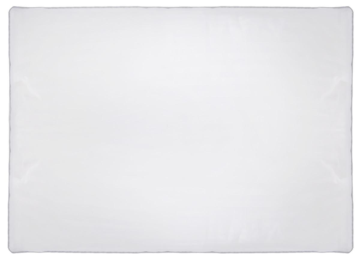 Подушка Легкие сны Элисон, наполнитель: лебяжий пух, 50 х 68 смБрелок для ключейПодушка Легкие сны Элисон поможет расслабиться, снимет усталость и подарит вам спокойный и здоровый сон. В качестве наполнителя используется синтетический сверхтонкий и практически невесомый материал, названный лебяжьим пухом. Изделия с наполнителем из искусственного пуха легкие, мягкие и не вызывают аллергии. Чехол изделия выполнен из белоснежного сатина (100% хлопок) с тиснением страйп (полосы), по краю подушки выполнена отделка атласным кантом серого цвета. Подушка с таким наполнителем практична, легко стирается и быстро сохнет, сохраняя свои первоначальные свойства. Подушку можно стирать в стиральной машине. Степень поддержки: средняя.