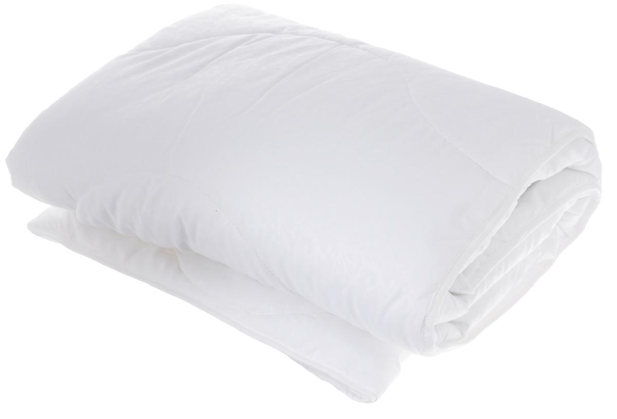 Одеяло легкое Легкие сны Перси, наполнитель: лебяжий пух, 140 х 205 см531-105Легкое стеганное одеяло Легкие сны Перси подарит вам непревзойденную мягкость и нежность. В качестве наполнителя используется синтетический сверхтонкий и практически невесомый материал, названный лебяжьим пухом. Изделия с наполнителем из искусственного пуха легкие, мягкие и не вызывают аллергии, хорошо пропускают воздух, за ними легко ухаживать. Важно заметить, что синтетический пух столь же легок и приятен на ощупь, что и его натуральный прототип. Чехол одеяла выполнен из микрофибры (100% полиэстер) с узорным тиснением. Рекомендации по уходу:Деликатная стирка при температуре воды до 30°С.Отбеливание, барабанная сушка и глажка запрещены.Разрешается деликатная химчистка.