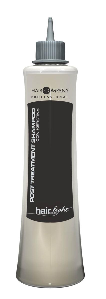 Hair Company Шампунь увлажняющий для волос Hair Light Post Treatment Shampoo 250 млFS-00897Шампунь увлажняющий Hair Company Hair Light Post Treatment Shampoo на основе кератина с увлажняющими свойствами. Благодаря кислому уровню рН сглаживает чешуйки волос, избегая преждевременного смывания питмента. После химической завивки, выпрямления и окрашивания, помогает волосам восстановить необходимый водный баланс, используется в качестве ухода за поврежденными волосами. Содержит кератиновые протеины и кукурузный крахмал.