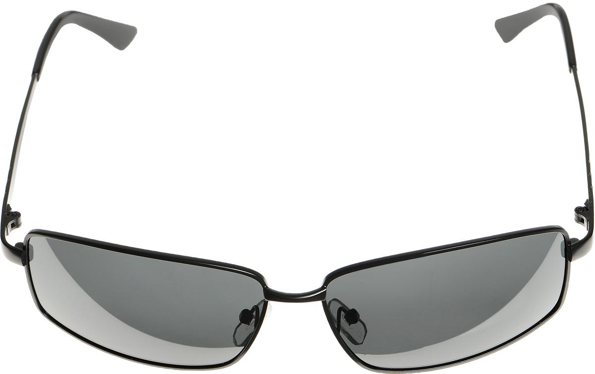 Очки солнцезащитные женские Selena, цвет: черный. 80032891BM8434-58AEСолнцезащитные женские очки Selena выполнены из металла с элементами из высококачественного пластика. Дужки оформлены декоративной резьбой.Линзы данных очков с высокоэффективным фильтром UV-400 Protection обеспечивают полную защиту от ультрафиолетовых лучей. Используемый пластик не искажает изображение, не подвержен нагреванию и вредному воздействию солнечных лучей.Такие очки защитят глаза от ультрафиолетовых лучей, подчеркнут вашу индивидуальность и сделают ваш образ завершенным.