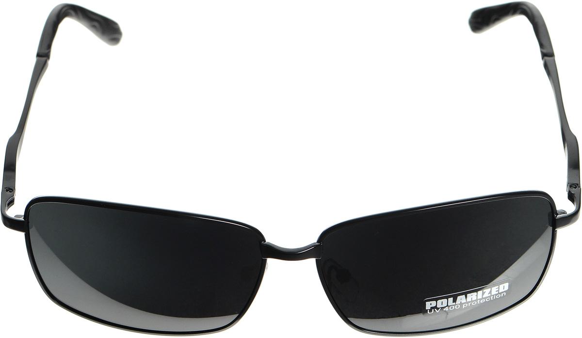 Очки солнцезащитные женские Selena, цвет: черный. 80032901BM8434-58AEСолнцезащитные женские очки Selena выполнены из металла с элементами из высококачественного пластика. Дужки оформлены декоративной резьбой.Линзы данных очков с высокоэффективным фильтром UV-400 Protection обеспечивают полную защиту от ультрафиолетовых лучей. Используемый пластик не искажает изображение, не подвержен нагреванию и вредному воздействию солнечных лучей.Такие очки защитят глаза от ультрафиолетовых лучей, подчеркнут вашу индивидуальность и сделают ваш образ завершенным.