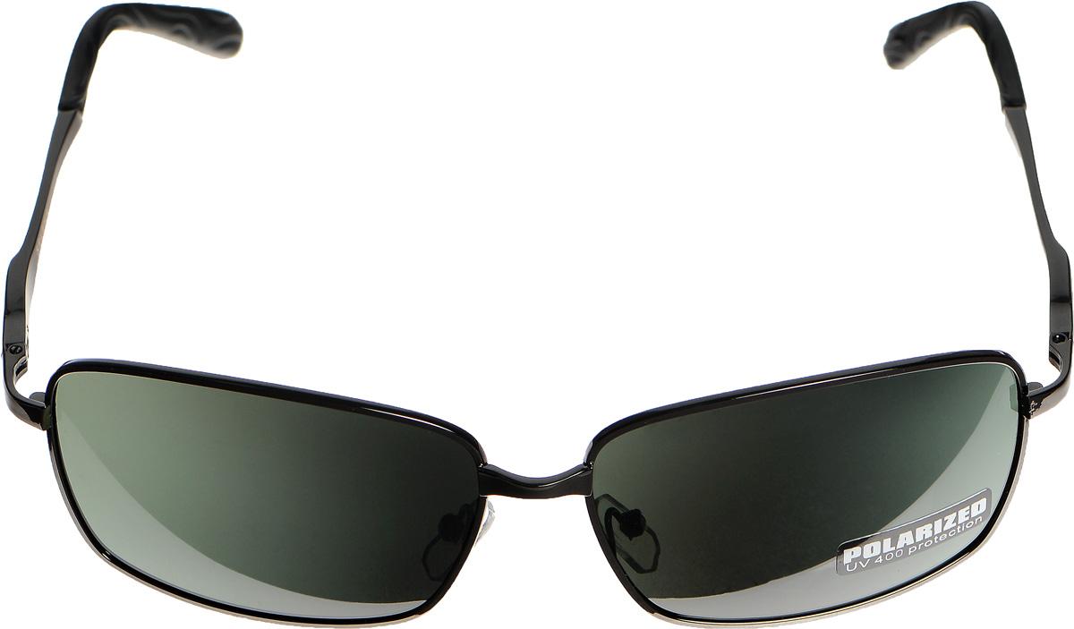 Очки солнцезащитные женские Selena, цвет: зеленый, черный. 80032911BM8434-58AEСолнцезащитные женские очки Selena выполнены из металла с элементами из высококачественного пластика. Дужки оформлены декоративной резьбой и имеют матовую поверхность.Линзы данных очков с высокоэффективным фильтром UV-400 Protection обеспечивают полную защиту от ультрафиолетовых лучей. Используемый пластик не искажает изображение, не подвержен нагреванию и вредному воздействию солнечных лучей.Такие очки защитят глаза от ультрафиолетовых лучей, подчеркнут вашу индивидуальность и сделают ваш образ завершенным.