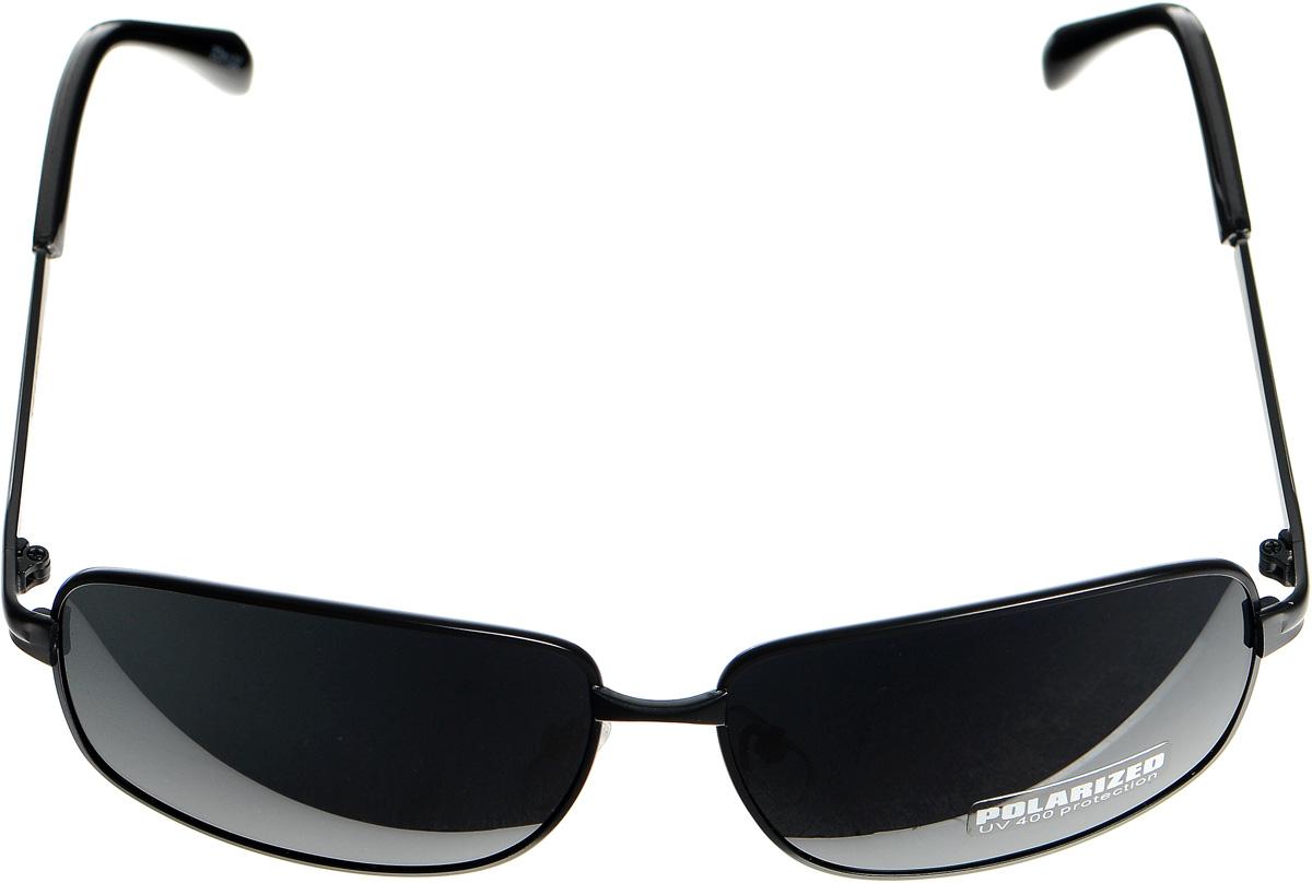 Очки солнцезащитные женские Selena, цвет: черный. 80032951BM8434-58AEСолнцезащитные женские очки Selena выполнены из металла с элементами из высококачественного пластика.Линзы данных очков с высокоэффективным фильтром UV-400 Protection обеспечивают полную защиту от ультрафиолетовых лучей. Используемый пластик не искажает изображение, не подвержен нагреванию и вредному воздействию солнечных лучей.Такие очки защитят глаза от ультрафиолетовых лучей, подчеркнут вашу индивидуальность и сделают ваш образ завершенным.