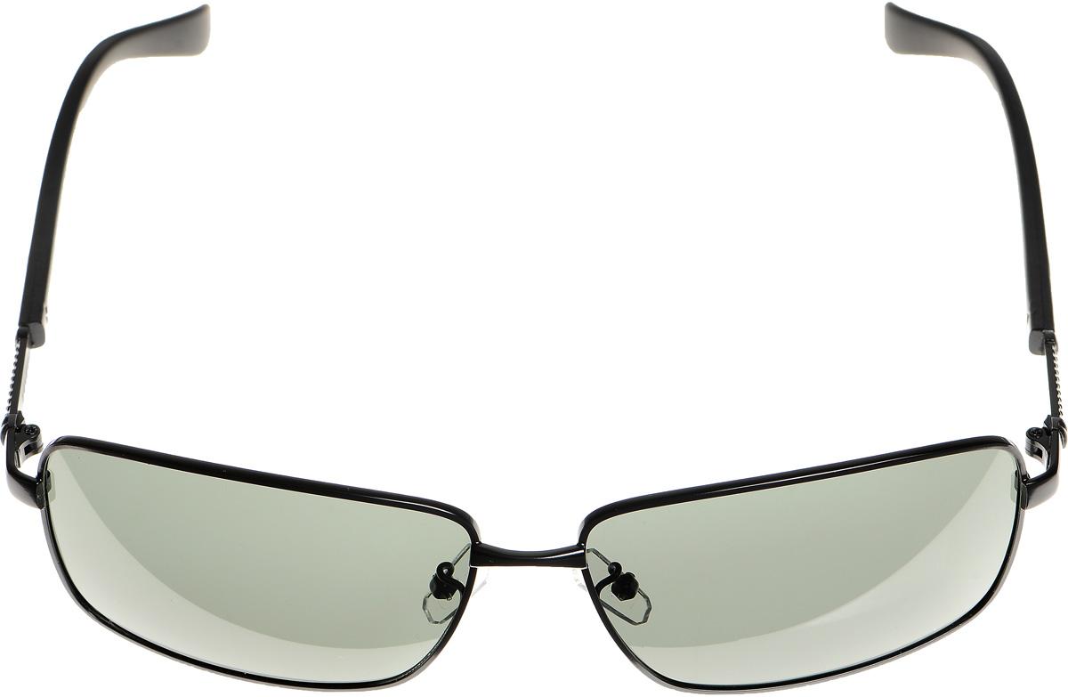 Очки солнцезащитные оженские Selena, цвет: зеленый, черный. 80033101BM8434-58AEСолнцезащитные женские очки Selena выполнены из высококачественного пластика с элементами из металла. Дужки дополнены оригинальной резьбой.Линзы данных очков с высокоэффективным фильтром UV-400 Protection обеспечивают полную защиту от ультрафиолетовых лучей. Используемый пластик не искажает изображение, не подвержен нагреванию и вредному воздействию солнечных лучей.Такие очки защитят глаза от ультрафиолетовых лучей, подчеркнут вашу индивидуальность и сделают ваш образ завершенным.