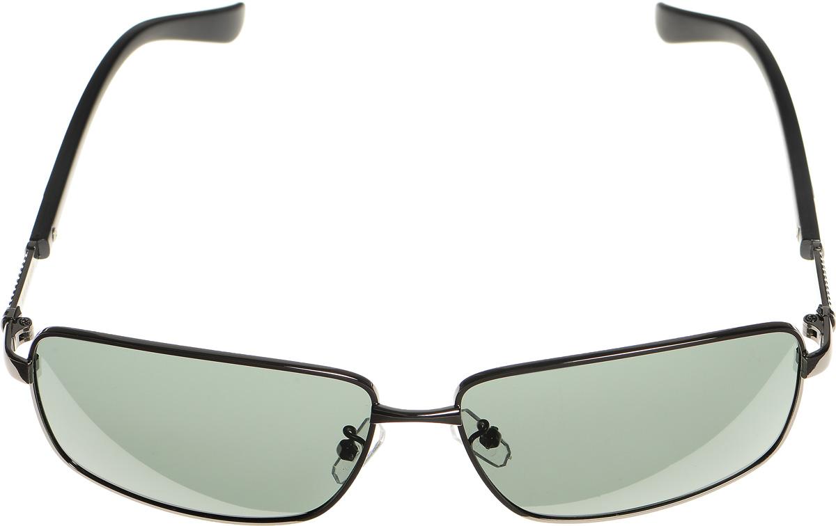 Очки солнцезащитные женские Selena, цвет: серый, черный. 80033111BM8434-58AEСолнцезащитные женские очки Selena выполнены из металла с элементами из высококачественного пластика. Дужки оформлены декоративными элементами.Линзы данных очков с высокоэффективным фильтром UV-400 Protection обеспечивают полную защиту от ультрафиолетовых лучей. Используемый пластик не искажает изображение, не подвержен нагреванию и вредному воздействию солнечных лучей.Такие очки защитят глаза от ультрафиолетовых лучей, подчеркнут вашу индивидуальность и сделают ваш образ завершенным.