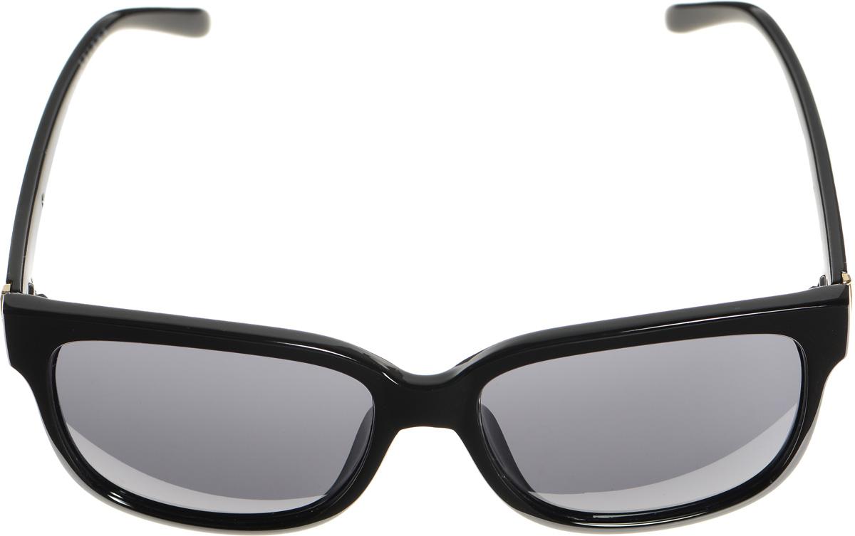 Очки солнцезащитные женские Selena, цвет: черный. 80033311BM8434-58AEСолнцезащитные женские очки Selena выполнены из высококачественного пластика с элементами из металла.Линзы данных очков с высокоэффективным фильтром UV-400 Protection обеспечивают полную защиту от ультрафиолетовых лучей. Используемый пластик не искажает изображение, не подвержен нагреванию и вредному воздействию солнечных лучей.Такие очки защитят глаза от ультрафиолетовых лучей, подчеркнут вашу индивидуальность и сделают ваш образ завершенным.