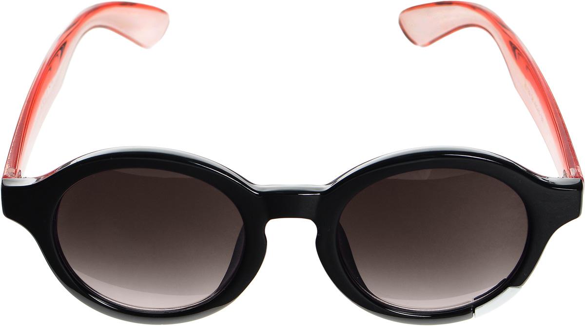 Очки солнцезащитные женские Selena, цвет: черный, розовый, коричневый. 80033461INT-06501Солнцезащитные женские очки Selena выполнены из высококачественного пластика. Дужки выполнены из материала контрастного цвета, а оправа дополнена металлической вставкой.Линзы данных очков с высокоэффективным фильтром UV-400 Protection обеспечивают полную защиту от ультрафиолетовых лучей. Используемый пластик не искажает изображение, не подвержен нагреванию и вредному воздействию солнечных лучей.Такие очки защитят глаза от ультрафиолетовых лучей, подчеркнут вашу индивидуальность и сделают ваш образ завершенным.