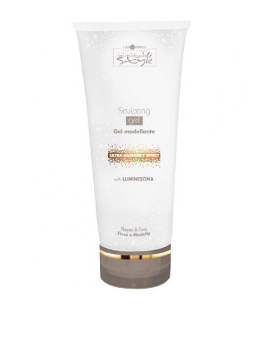 Hair Company Моделирующий и фиксирующий гель Professional Inimitable Style Sculpting Gel 250 млFS-00897Невероятно долгая фиксация прически.Содержит LUMINESCINE - отражает свет, придает волосам естественный блеск и жизненную силу.Специальная формула продукта защищает волосы от вредного воздействия окружающей среды:солнца, влаги, ветра.