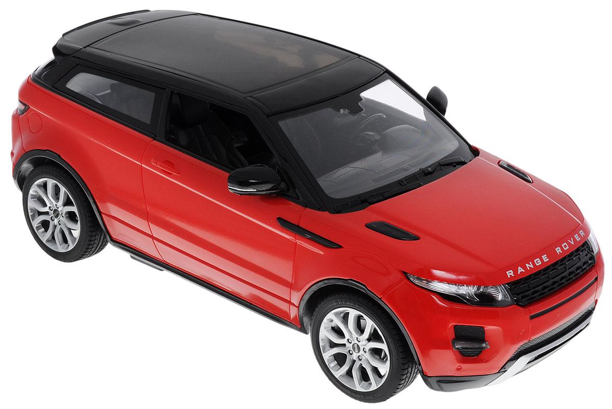 Rastar LR Range Rover Evoque 1:14 - это точная копия настоящего автомобиля, которая изготовлена из прочных материалов, шины выполнены из мягкой резины. При движении у машины горят передние и задние фары. Она может перемещаться вперед, дает задний ход, поворачивает влево и вправо, останавливается. Ребенок часами будет играть с моделью, придумывая различные истории и устраивая соревнования.