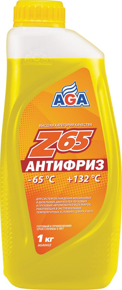 Антифриз, готовый к применению AGA, желтый, -65 °С. AGA 042 ZAGA 001 ZСрок службы — до 5 лет, или 150 000 км пробега. Ра-бочий диапазон температур: от –65 до +132 °C. Отличается высокой термостабильностью и пролонгированной работоспособностью присадок.Обеспечивает повышенную защиту всех металлов от коррозии и кавитации. Разработанс учетом требований: ASTM D 4985/5345; BMWN600 69.0; DaimlerChrysler DBL 7700.20; Audi,Porsche, Seat, Skoda, VW TL 774?F, type G-12+; FordWSS-M97 B44–D, ТТМ АвтоВАЗ.