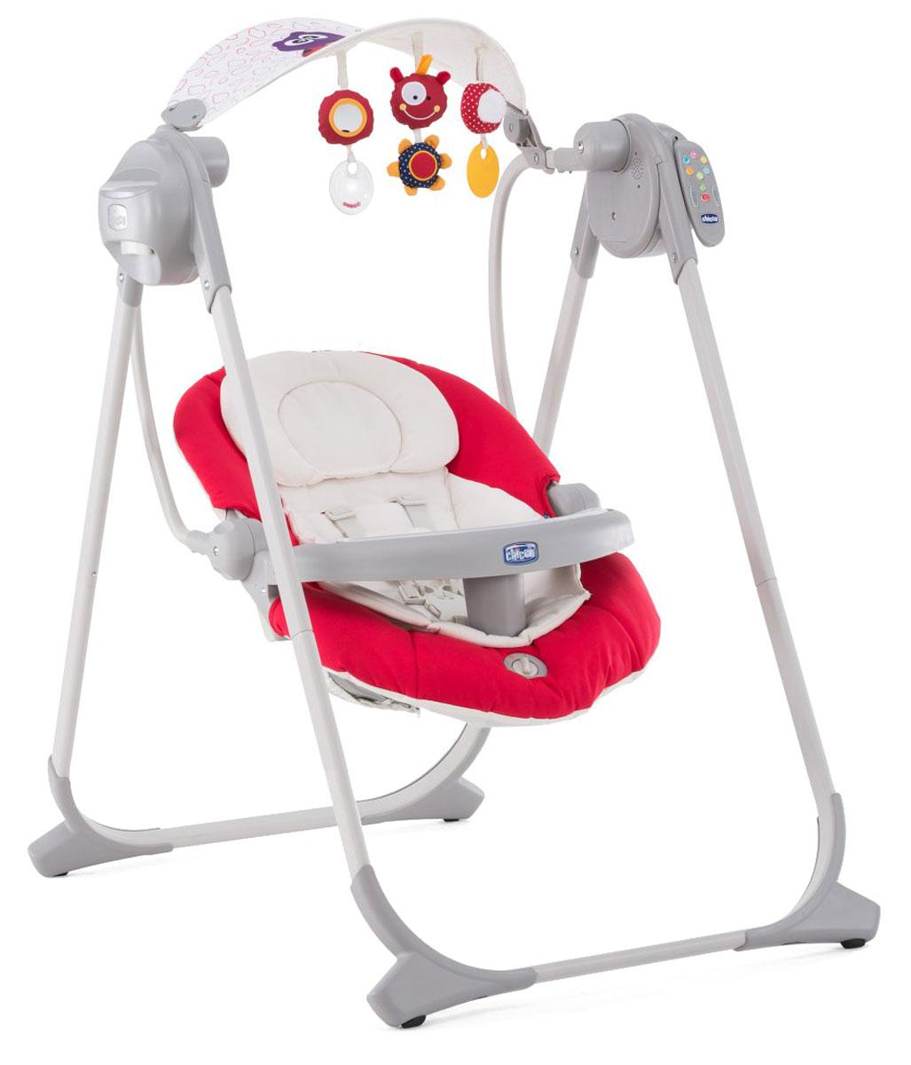 Swing Up — первые качели вашего ребенка, которые можно использовать как дома, так и на улице. Прекрасно подходят для игры, отдыха и укачивания малыша уже с самого рождения! Имеют 4 скорости движения, оборудованы устройством вибрации для укачивания ребенка. Задняя спинка может фиксироваться в 2-х положениях для обеспечения максимального комфорта ребенка как во время игры, так и во время отдыха.