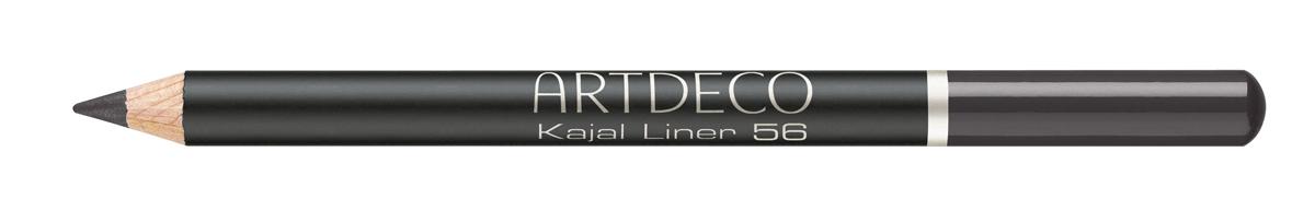 Artdeco Карандаш для век KAJAL 56 / черный, 1,1 г.1092018Идеальный контур для внешнего и внутреннего века с мягкой текстурой, которая подходит также для чувствительных глаз. Карандаш рисует любые стрелки, тонкие и четкие, широкие и фантазийные. Устойчив в течение дня.