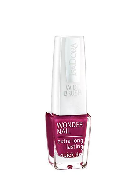 Isa Dora Лак для ногтей Wonder Nail 518, 6 млWS 7064Лак для ногтей с праздничным эффектом: крупные глиттеры мерцают в маникюре, преломляются разноцветным сиянием. Лак легко наносится и стойко держится.