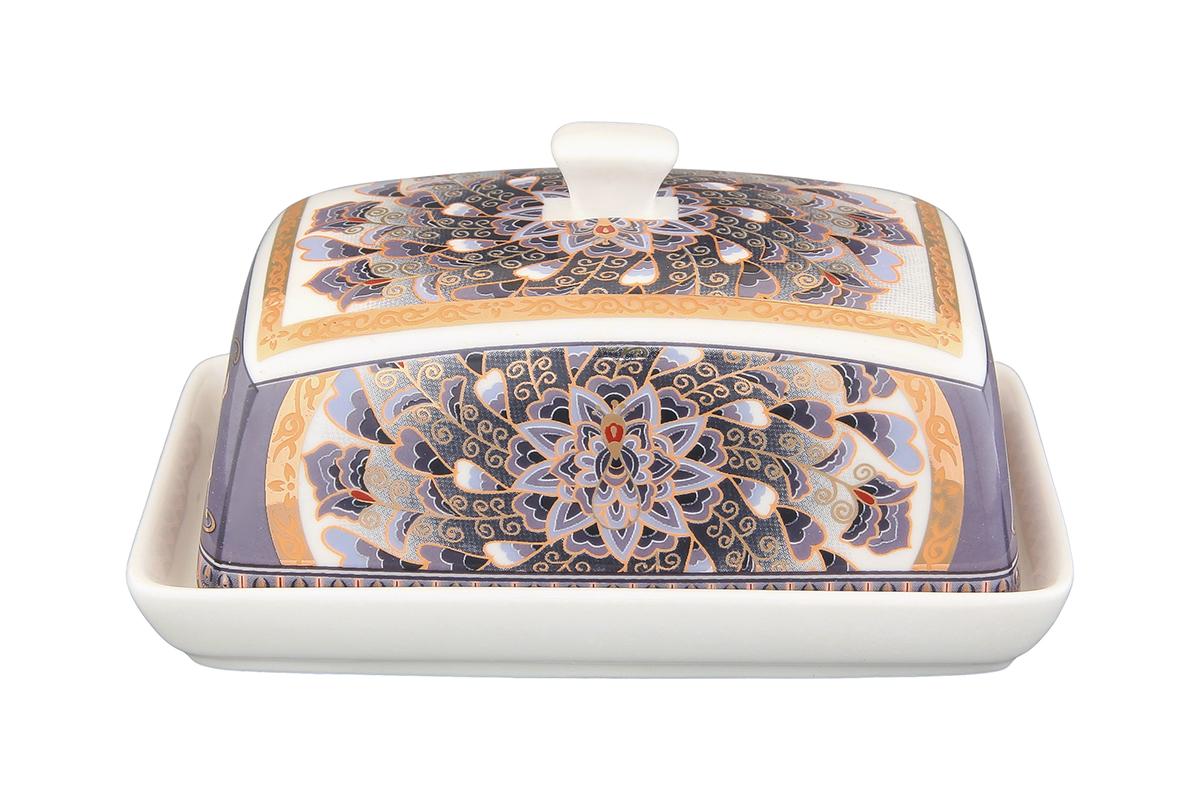Масленка Elan Gallery КалейдоскопVT-1520(SR)Великолепная масленка , выполненная из высококачественной керамики, предназначена для красивой сервировки и хранения масла.