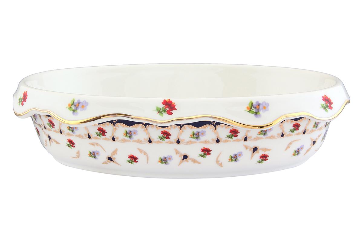 Блюдо-шубница Elan Gallery Цветочек, 24 х 17 х 6 смVT-1520(SR)Красочная посуда подарит настроение и уют, привнесет разнообразие в приготовление ваших любимых блюд и сервировку семейного стола