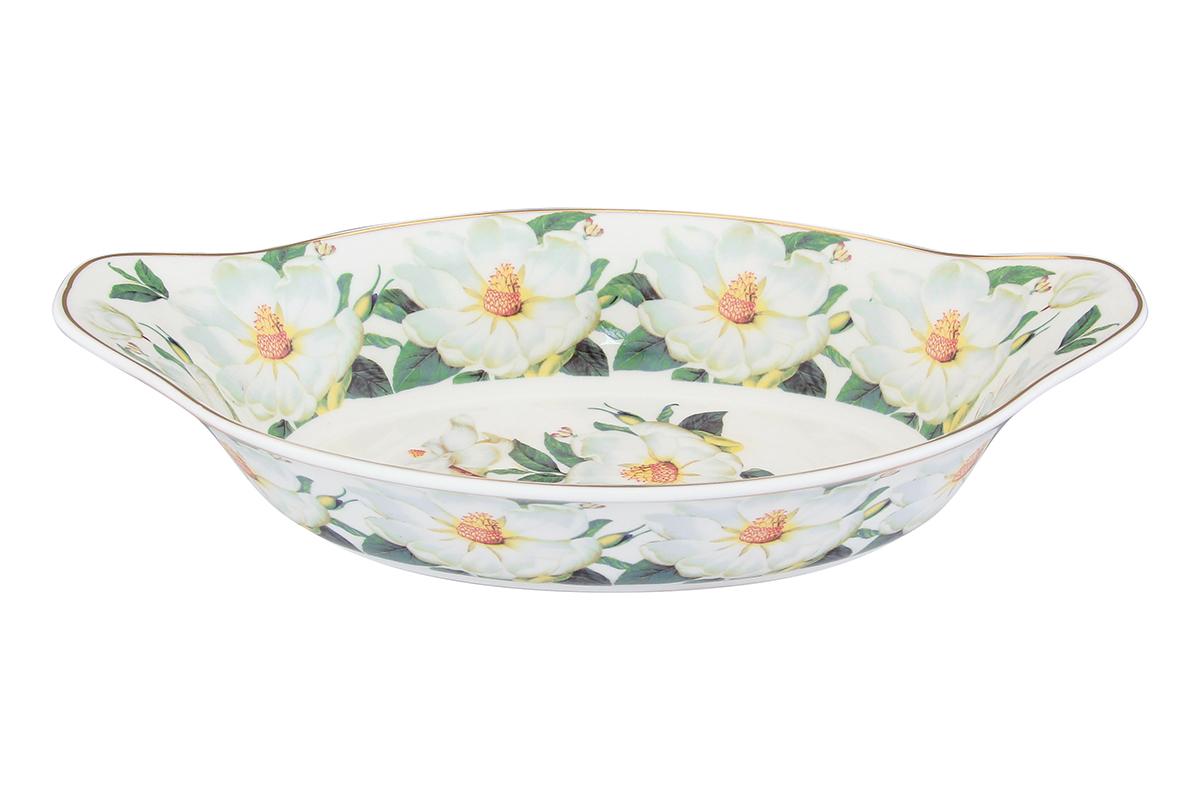 Блюдо-лодочка Elan Gallery Белый шиповник, 26 х 15,5 х 6 смVT-1520(SR)Блюдо подходит для подачи горячего, для приготовления и хранения слоеных салатов. Изделие имеет подарочную упаковку, поэтому станет желанным подарком для ваших близких!Объем блюда: 600 мл.