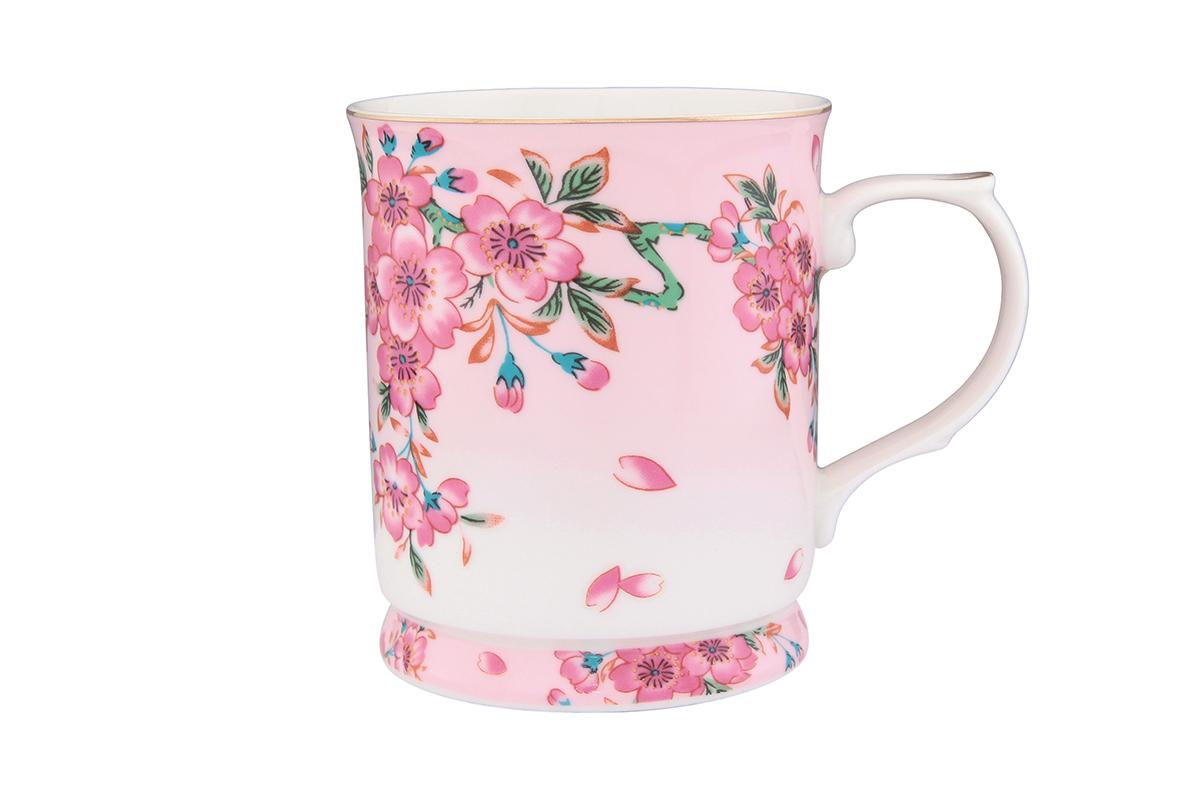 Кружка Elan Gallery Сакура, 400 млVT-1520(SR)Кружка с замечательным рисунком любителям долгих и душевных чаепитий в компании.