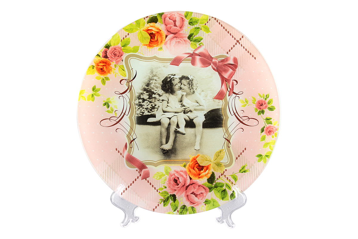 Блюдо VEGAS Две сестры, диаметр: 27 см54 009312Не важно, какая у вас посуда, в цветочек, белая, цветная, в горошек или полоску, посуда из стекла подойдет к любой. Придает легкость, воздушность сервировке стола и создаст особую атмосферу праздника.Диаметр блюда: 27 см.